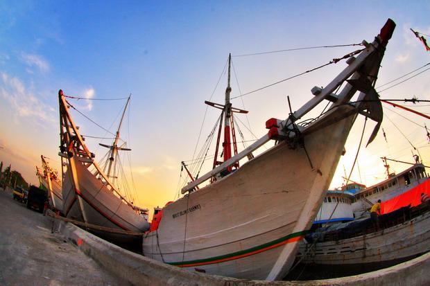 Pelabuhan Sunda Kelapa, tujuan kami senja itu (dok.pri)