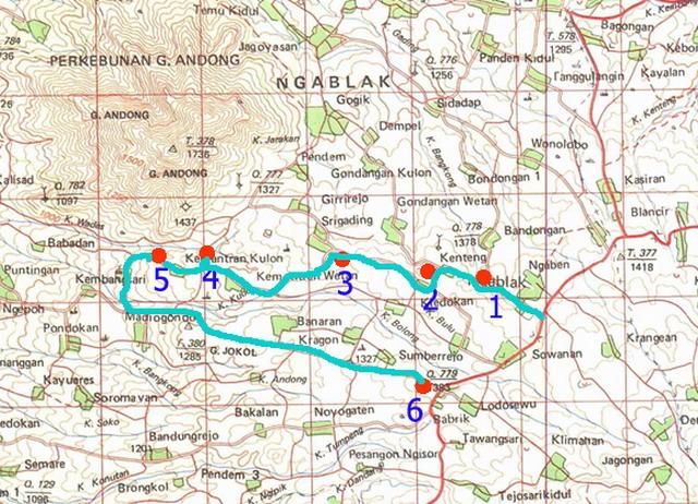 Inilah rute Disar XXIII