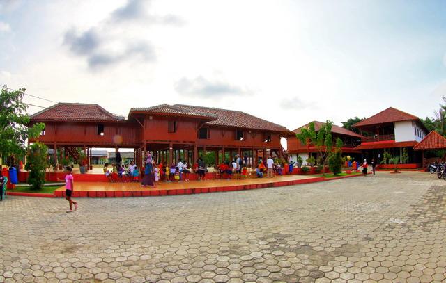 Pelataran rumah si Pitung di Marunda, Jakarta Utara (dok.pri)