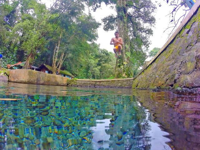 Senjoyo, salah satu mata air di Kab.Semarang Jawa Tengah tetap terjaga hingga saat ini, karena masyarakt percaya pada mitos yang berkembang sayng salah satu kisahnya agar mata air tetap terjaga (dok.pri).